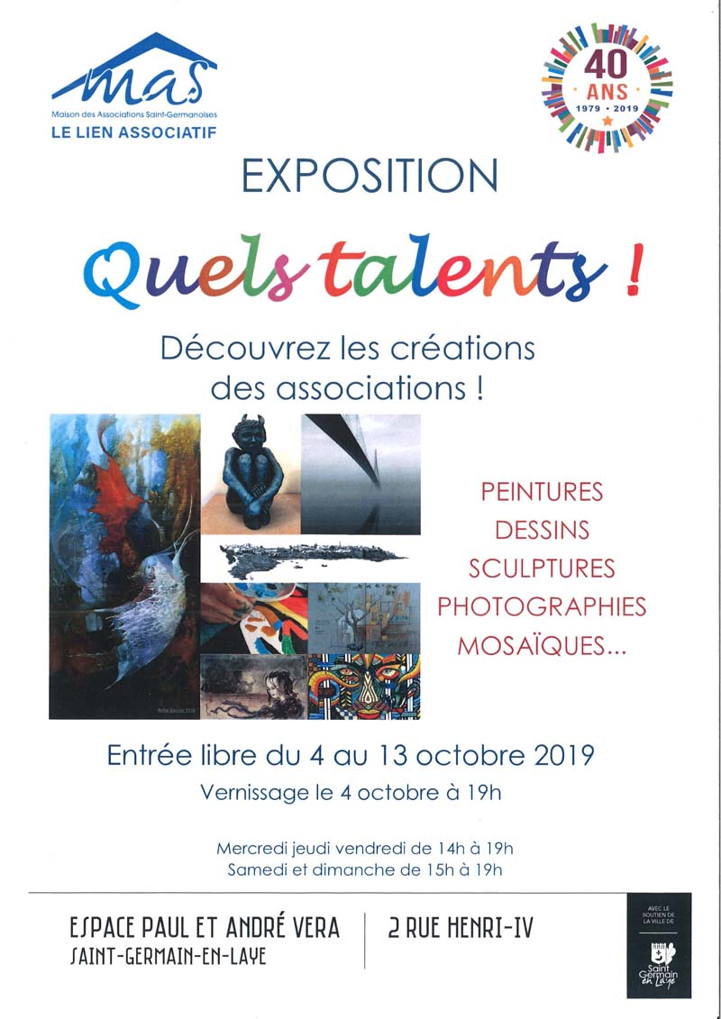 "Exposition "" Quels Talents """