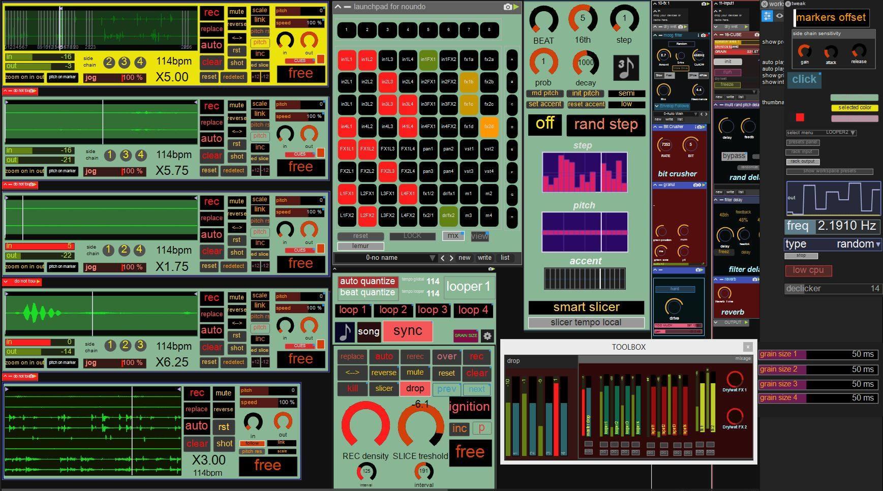 Apéro numérique #3 - Présentation du looper multipiste NOundo