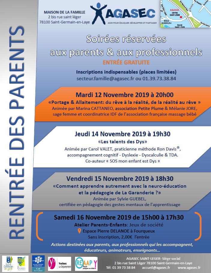 La rentrée des parents - Conférence : Les talents des Dys
