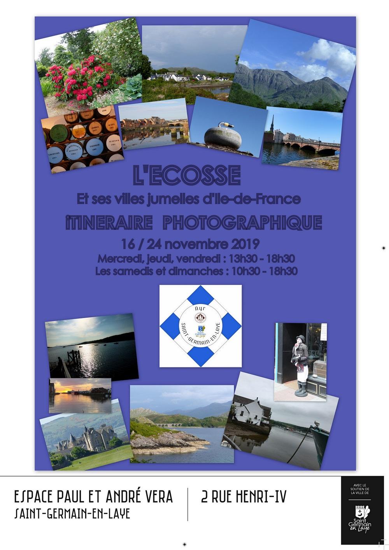 L'Ecosse et ses villes jumelles d'Île-de-France : Itinéraire photographique