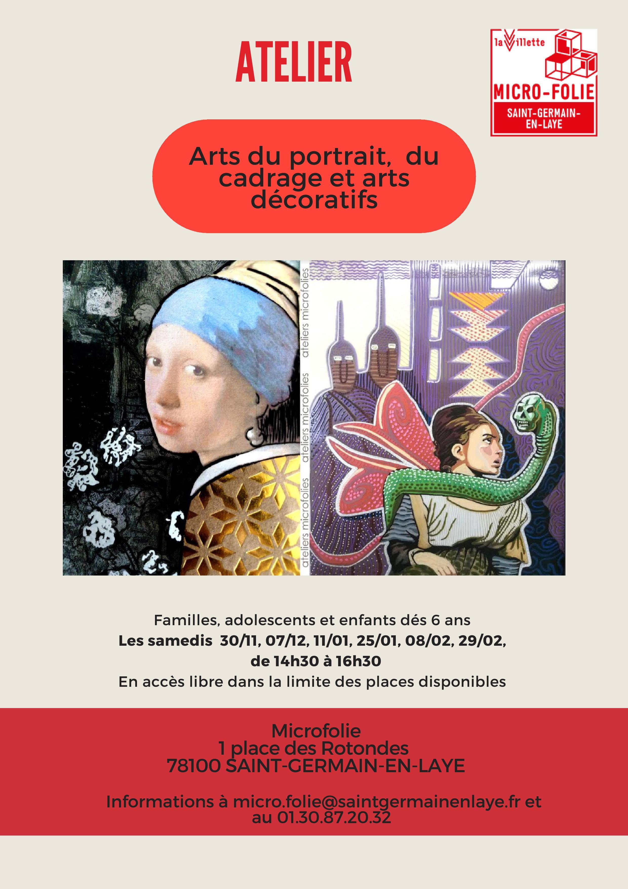 [Micro-Folie] Atelier  « Art du portrait »