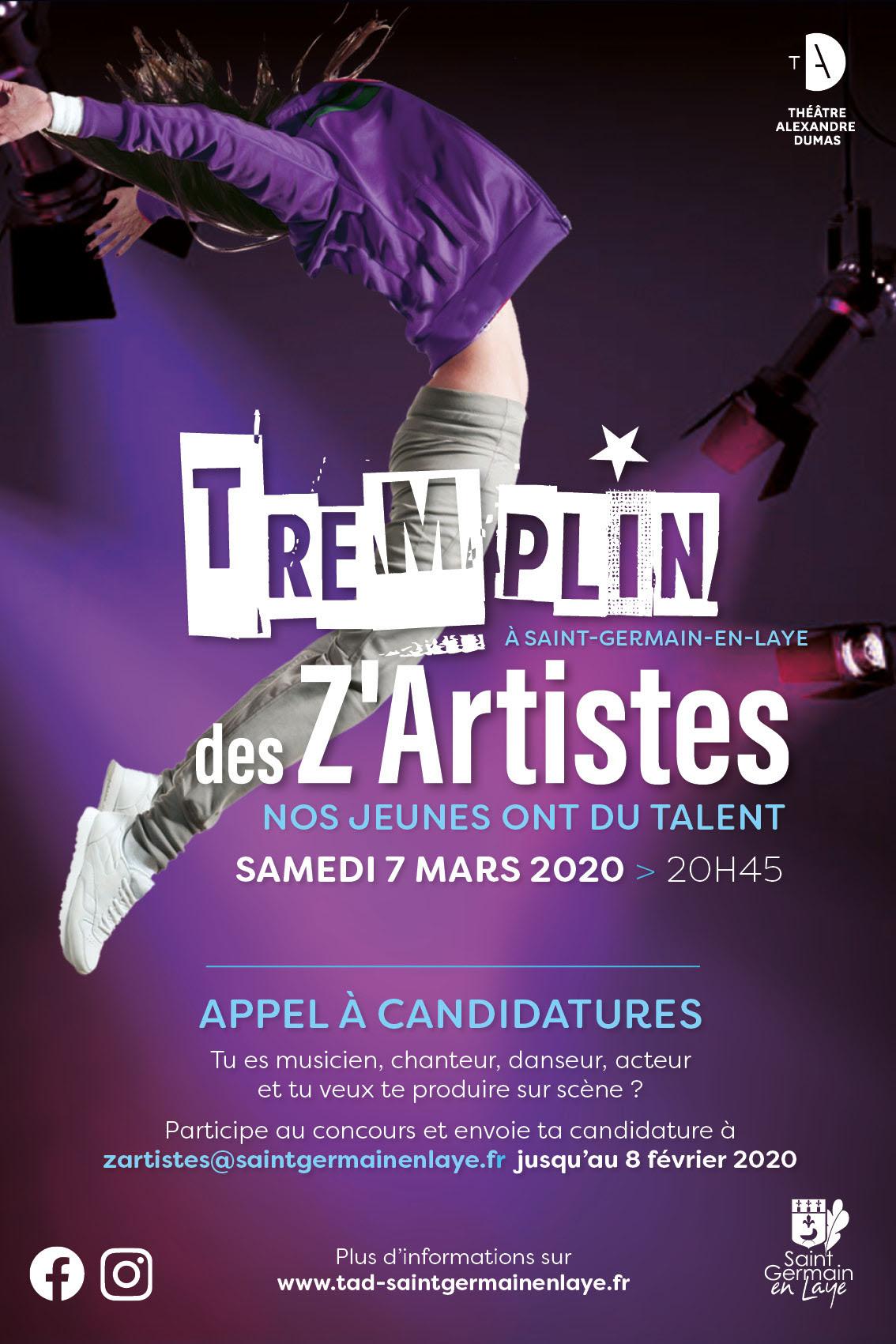 Casting du Tremplin des Z'Artistes