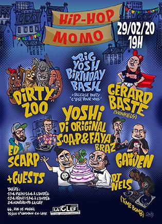 Yoshi Di Original présente « Hip-Hop Momo #2 »