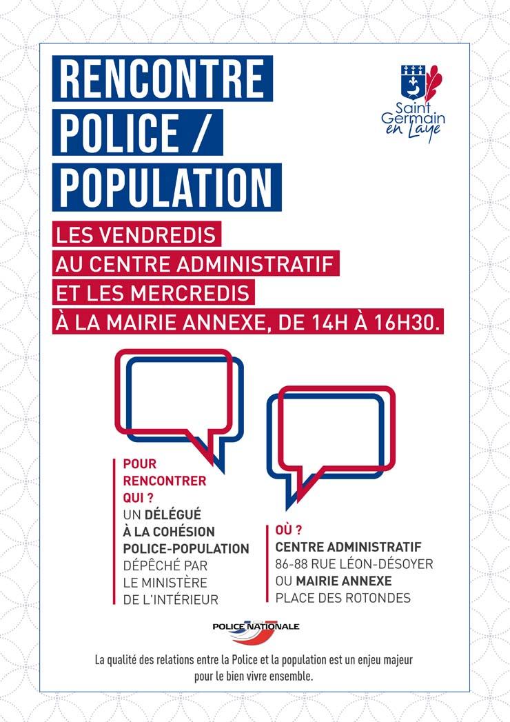 """Permanence """"délégué de cohésion police-population"""""""