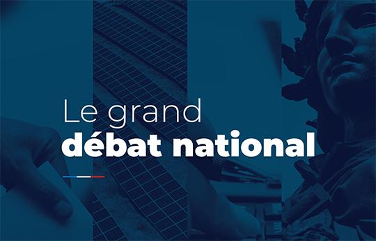 Réunions publiques : Grand débat national
