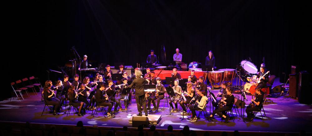 Concert des ensembles à Vent et de musique de Chambre