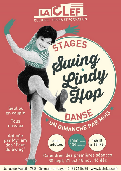 La CLEF : Danse - Swing - Lindy Hop